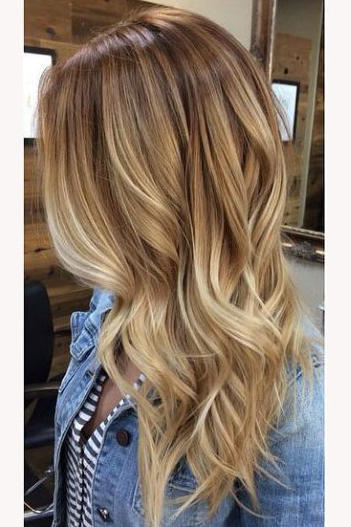 Honey Blonde Warm Sandy
