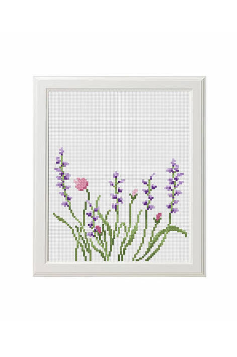 Lavender Flowers Pattern