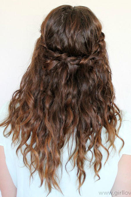 Twisted Maiden Braids