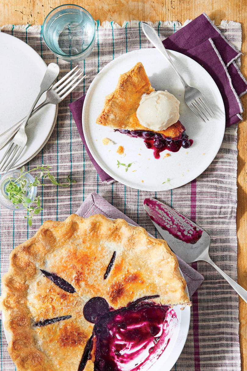 RX_1805_May 2018 Recipes_Blueberry-Thyme Pie