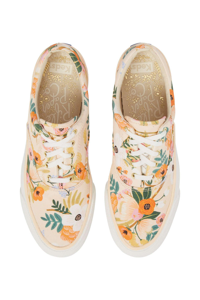 Keds x Rifle Paper Co. Floral Slip-On Sneaker