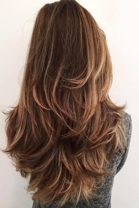 Gorgeous Layered Hairstyles for Long Hair