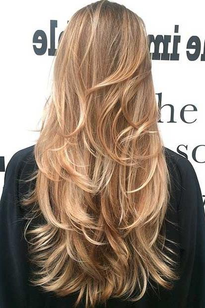 Charming Gorgeous Layered Hairstyles For Long Hair