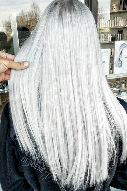 And shame! silver and platinum blonde hair color congratulate, excellent