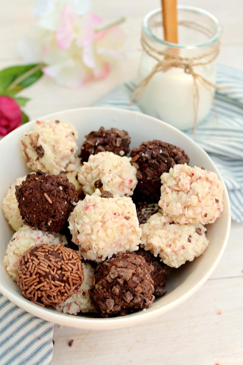 Three-Ingredient Greek Yogurt Truffles