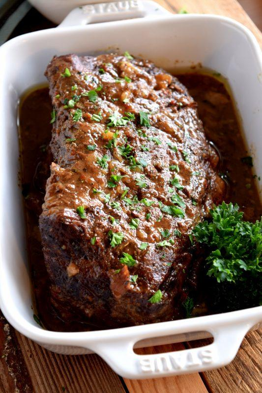 Three-Ingredient Slow-Cooker Pot Roast