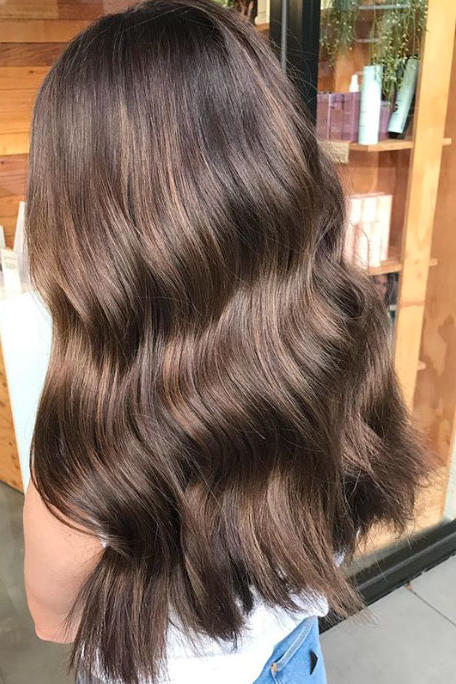 Hair Color Trends For Brunettes That Ll Make 2018