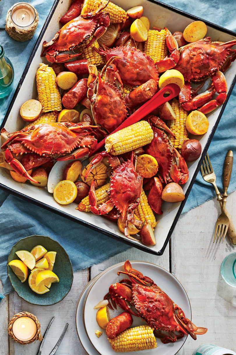 Crab Boil with Beer and Old Bay