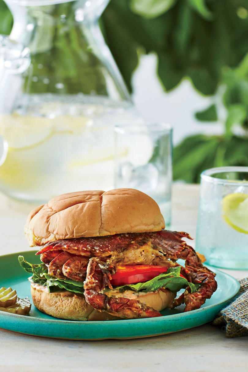 Crispy Soft-Shell Crab Sandwiches