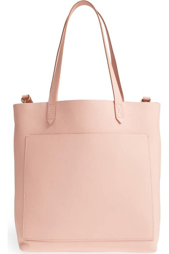 Madewell Leather Transport Tote