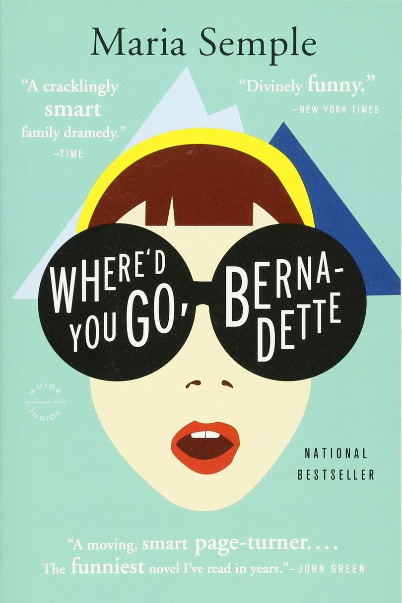 RX-1804_Where'd You Go, Bernadette by Maria Semple_Mothers Day Books