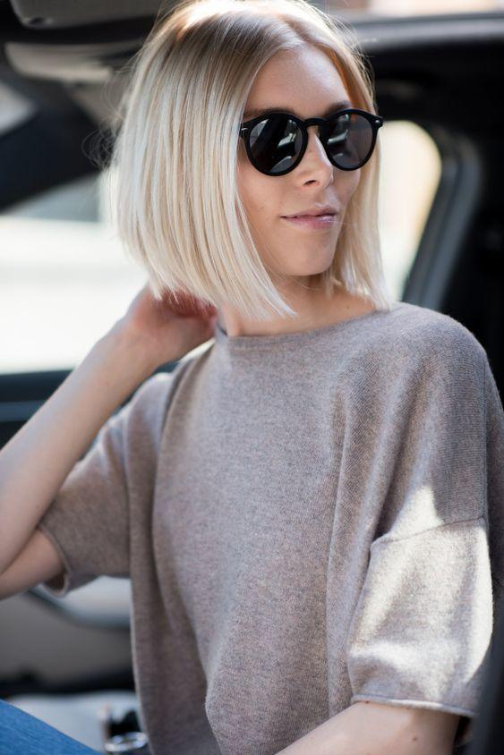 Subtle Inverted Bob