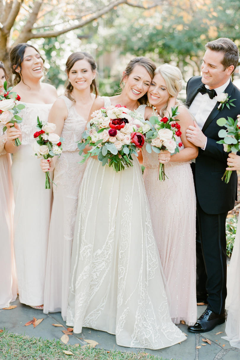 Bridal Party with Personality
