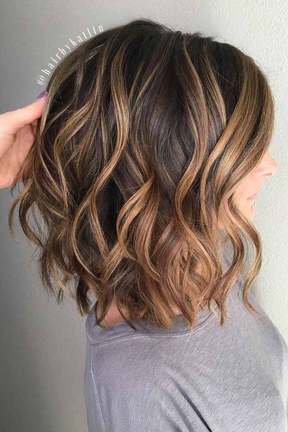 Wavy Layers and Caramel Ribbons