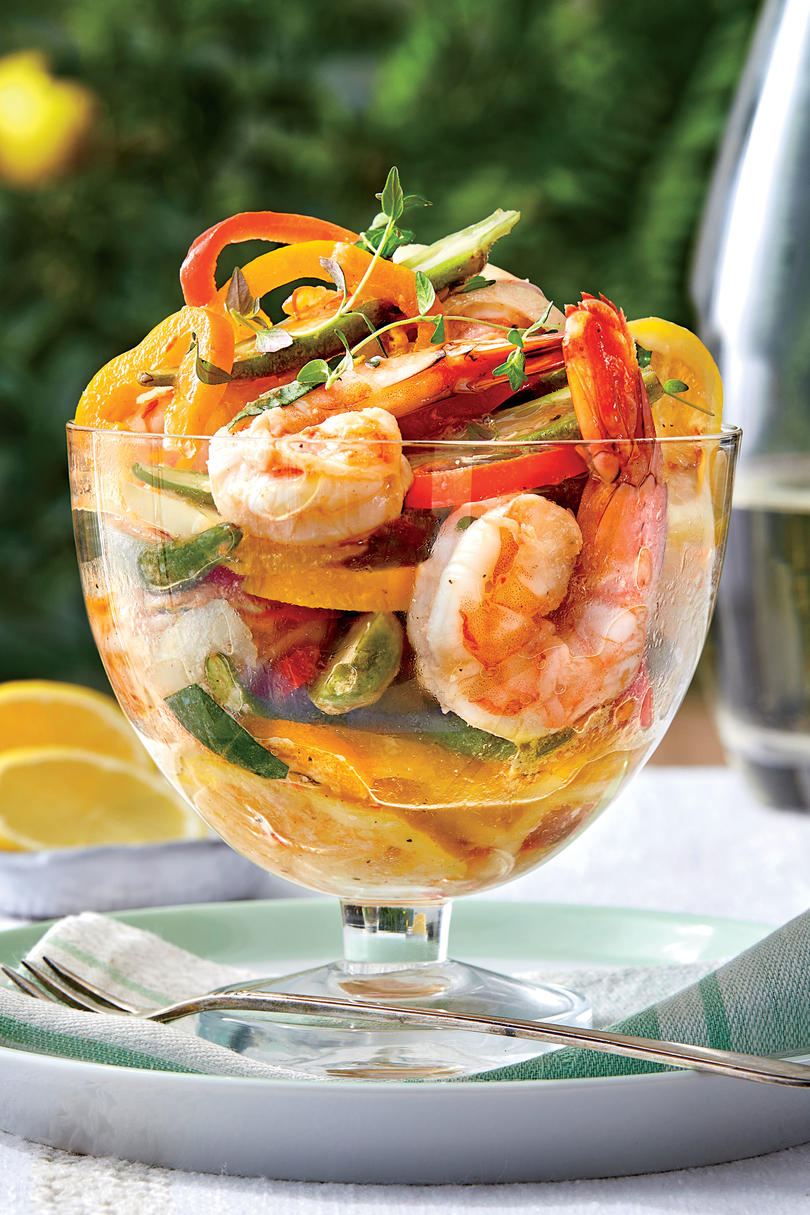 Pickled Shrimp and Vegetables
