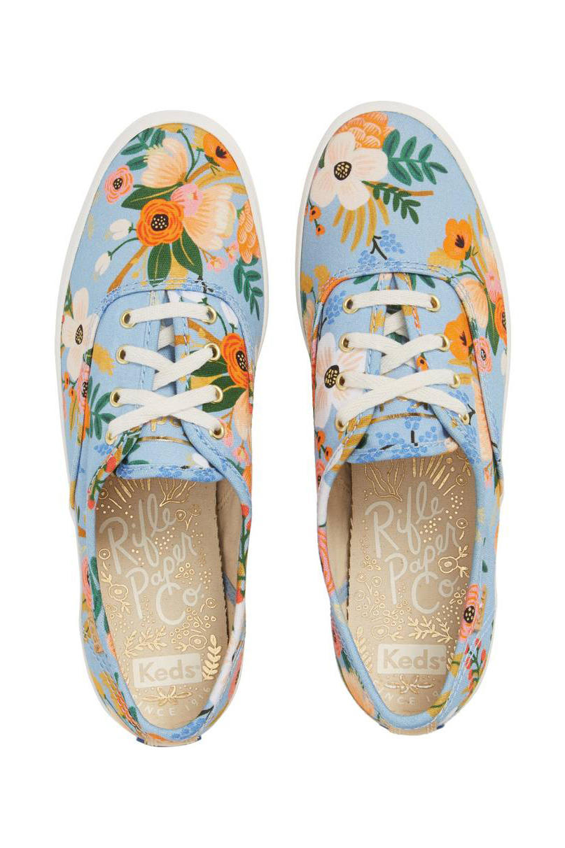 Keds x Rifle Paper Co. Champion Floral Print Sneaker
