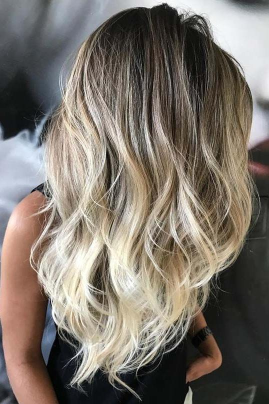 Beach Blonde Balayage