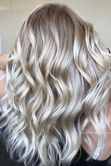 Champagne Blonde Your Light Brown: Champagne Hair Color We're Dying For