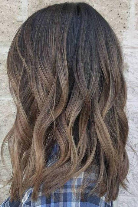 Mushroom Brown with Subtle Ombre