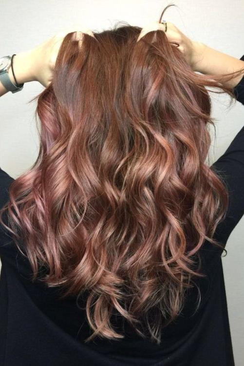Rose Gold Highlights