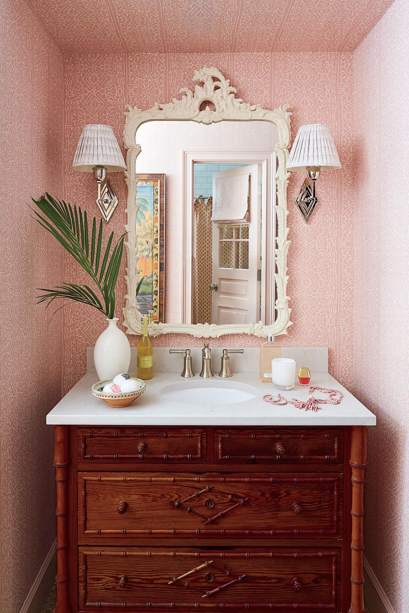 2018 Idea House in Austin, Texas Girl's Vanity Bathroom