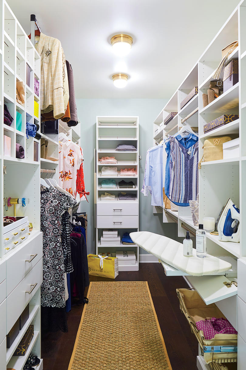 2018 Idea House in Austin, Texas Master Closet