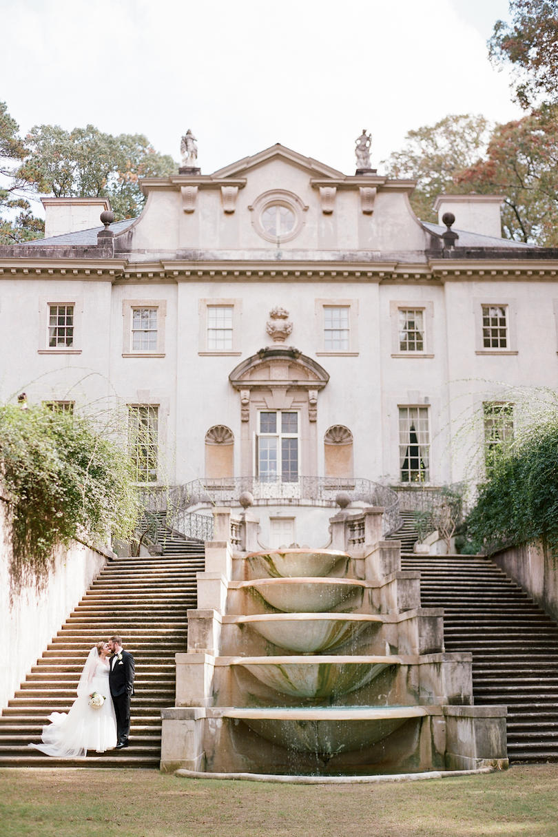 Atlanta Swan House Wedding Venue