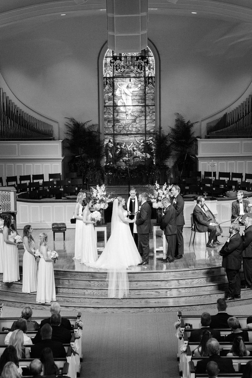 Wedding Ceremony Peachtree Presbyterian Church