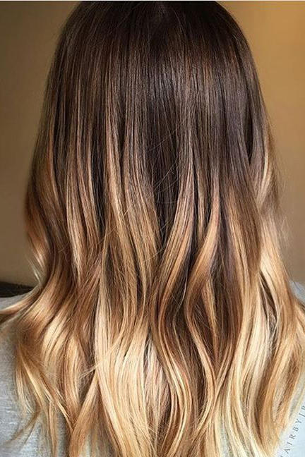 Brown Ombré Hair Color Ideas