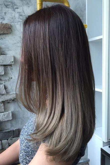 brown ombré hair color ideas southern living