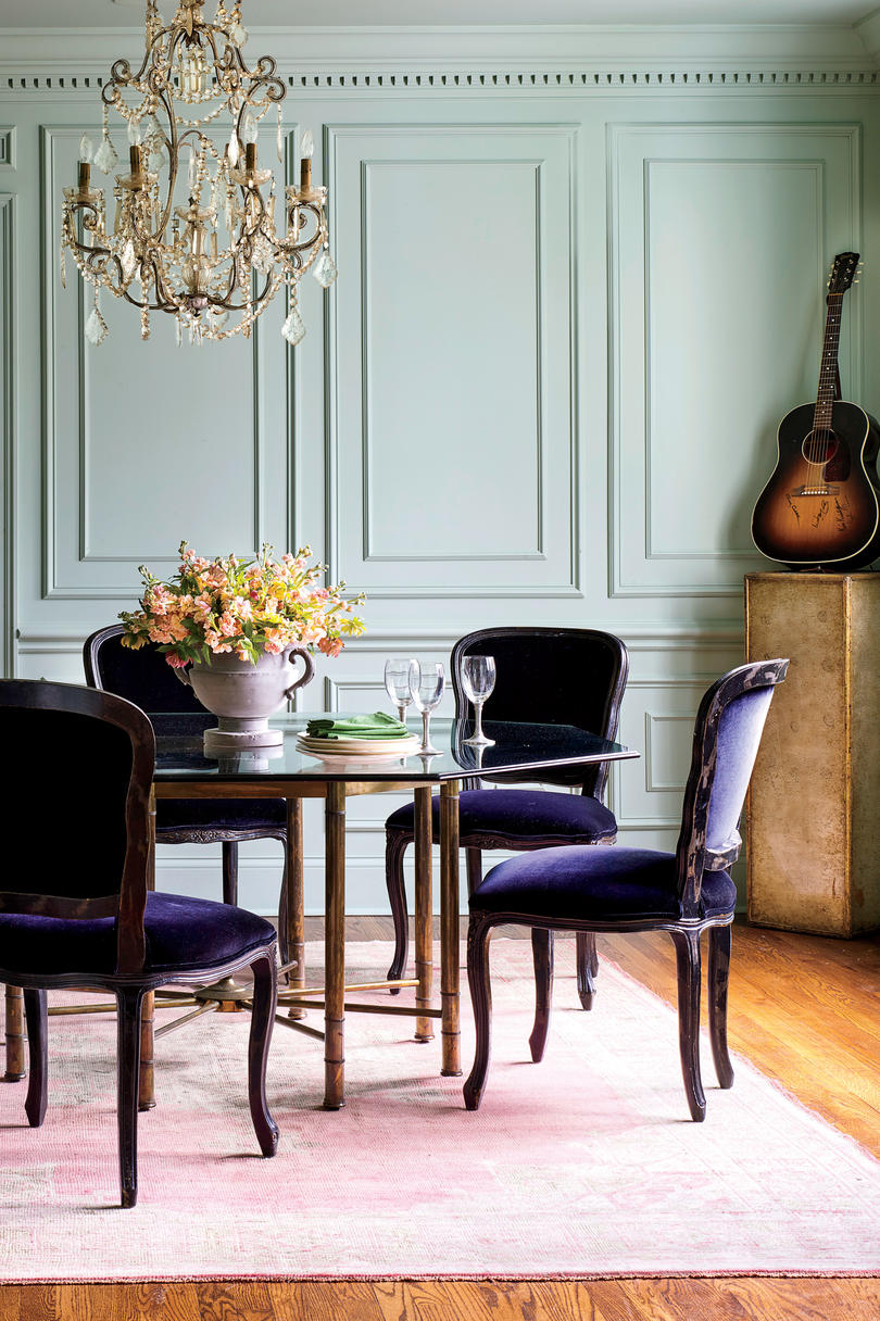 Holly Williams Colonial Revival Home Renovation Dining Room in Nashville
