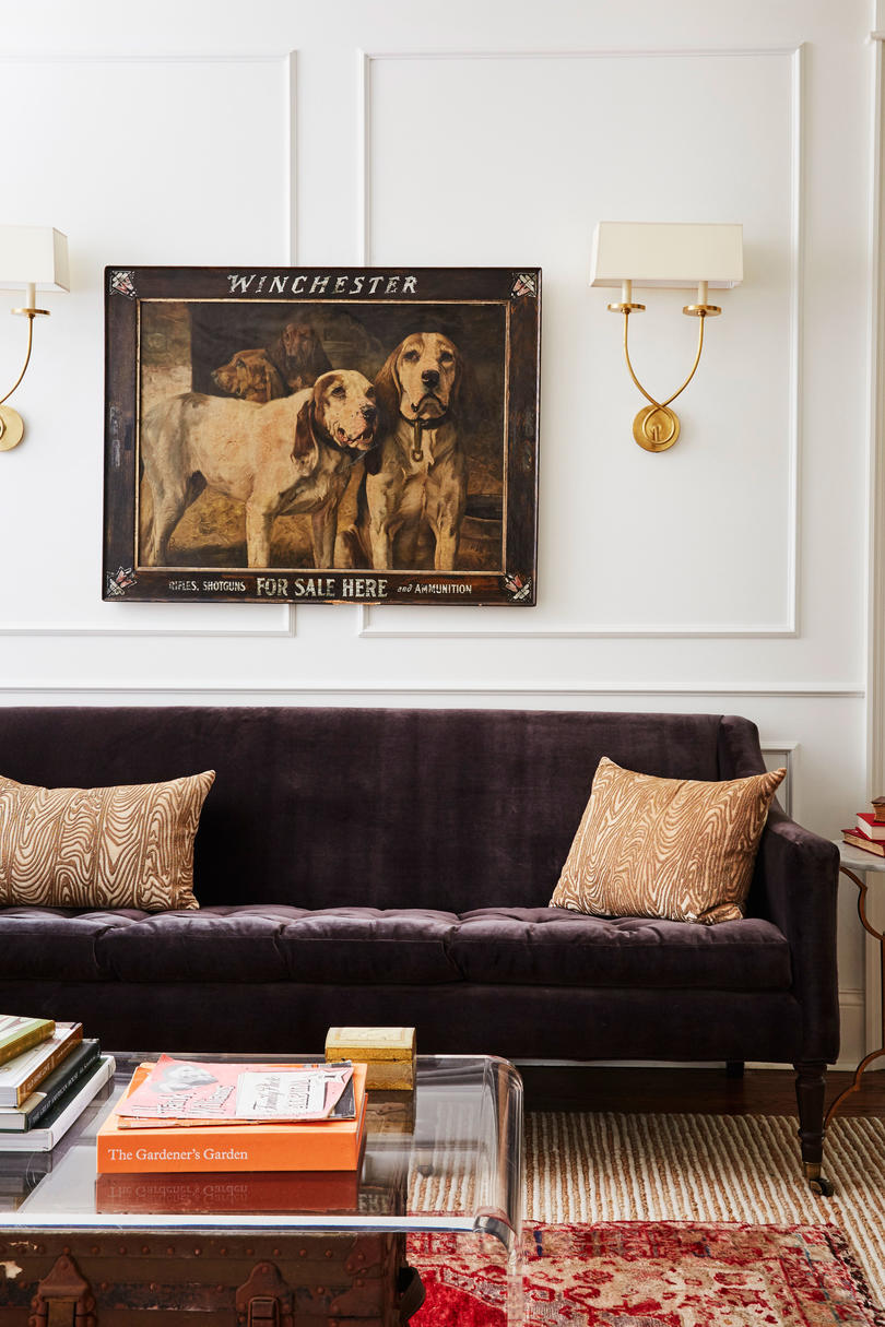 Holly Williams Colonial Revival Remodel in Nashville, TN Living Rom