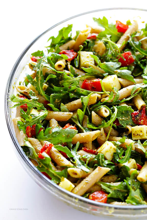 5-Ingredient Pesto Pasta Salad
