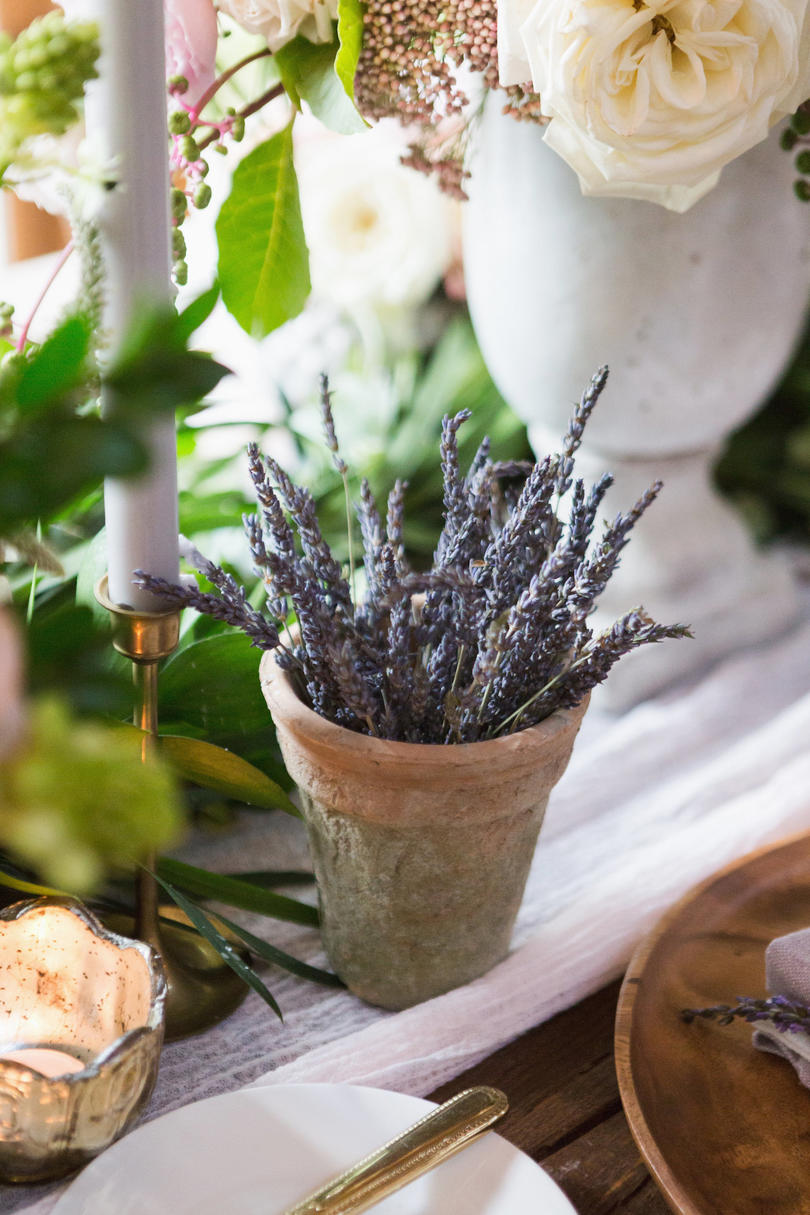 Lavender Flower Wedding Decor