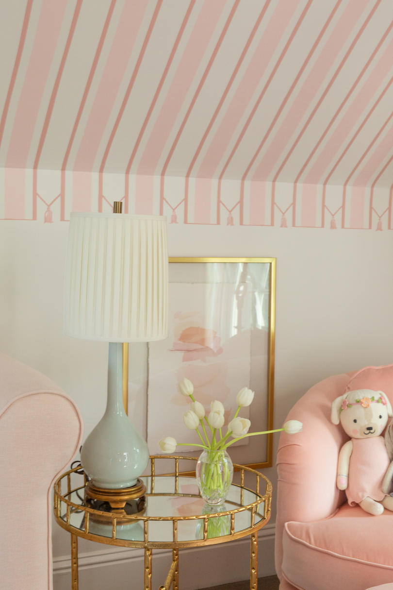 Pink Striped Nursery