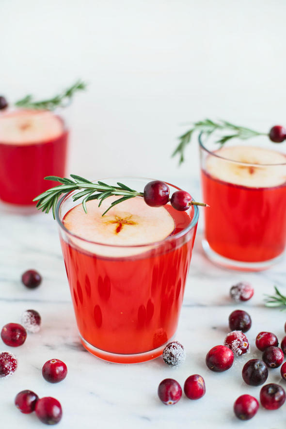 Cranberry-Apple Cider Punch