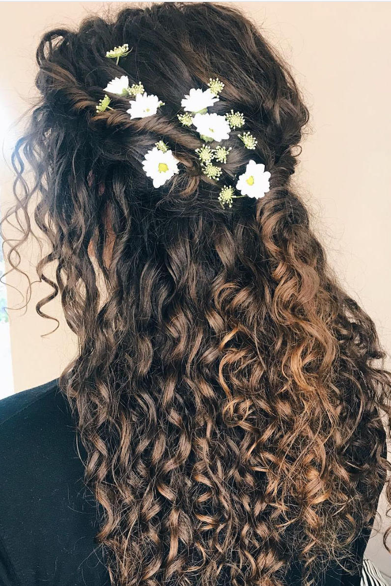 Stunning Wedding Hairstyles for Naturally Curly Hair - Southern Living