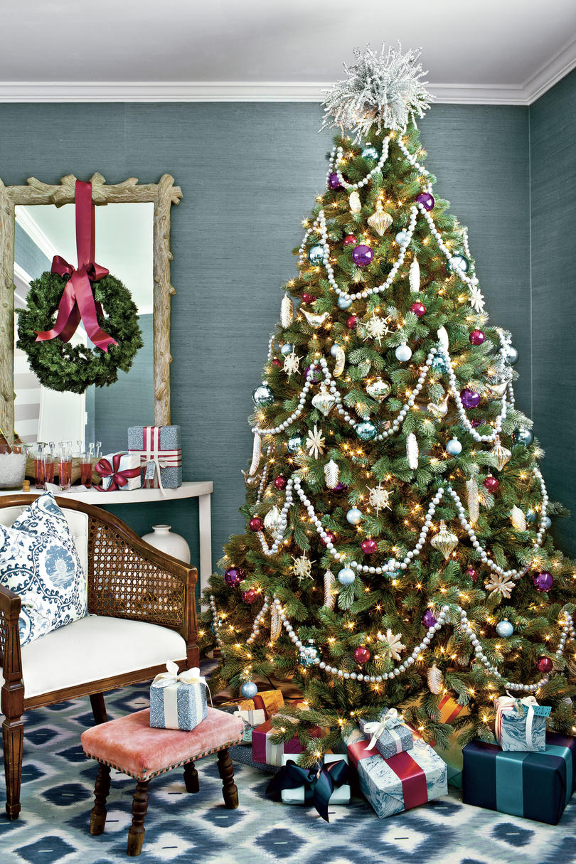 Christmas Tree Decoration Ideas Pictures Of Christmas Trees We