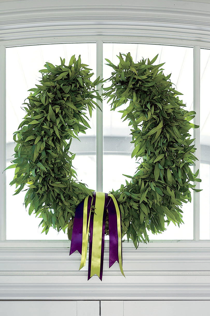 Personalized Wreath
