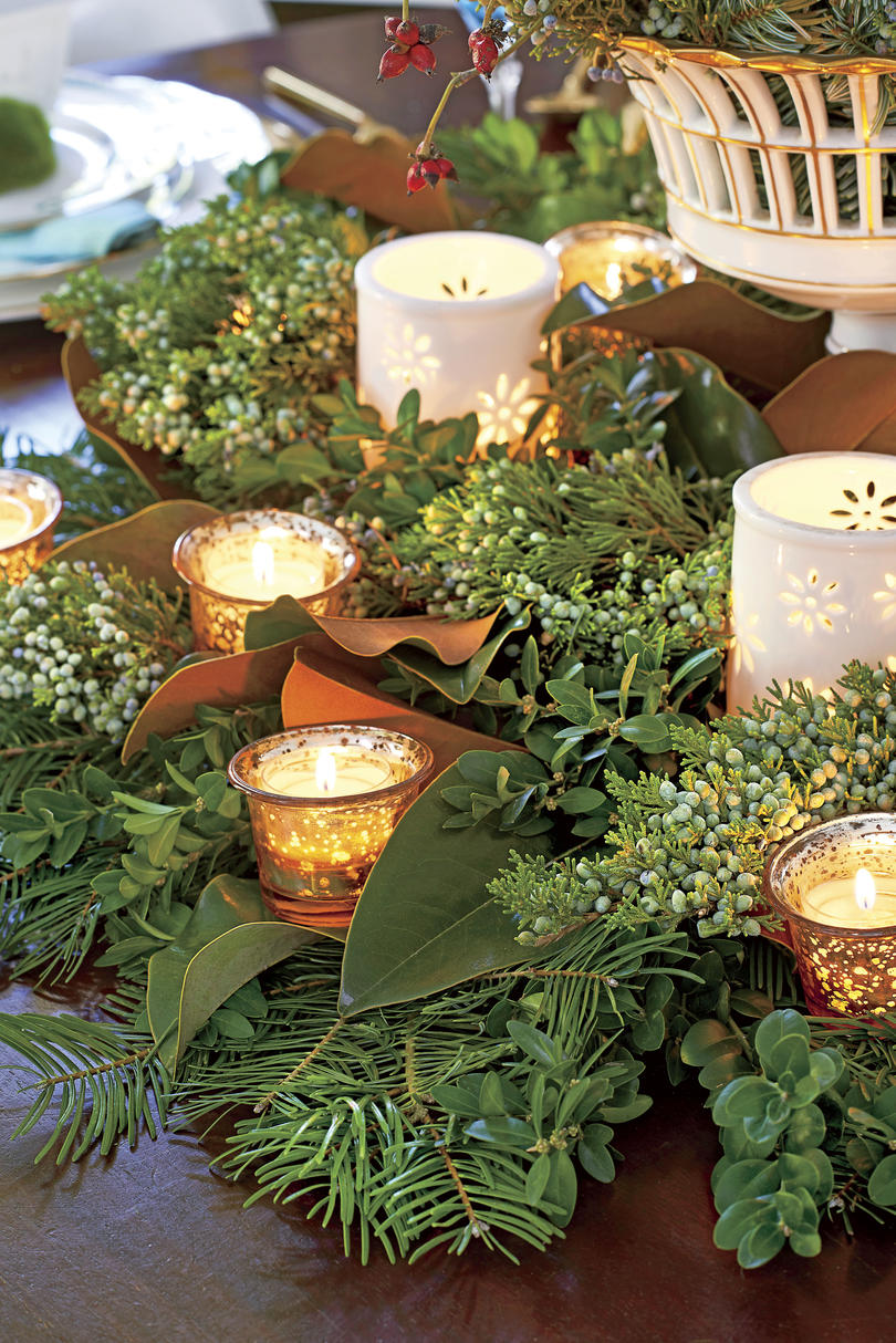 Christmas Greenery.50 Ways To Decorate With Fresh Christmas Greenery
