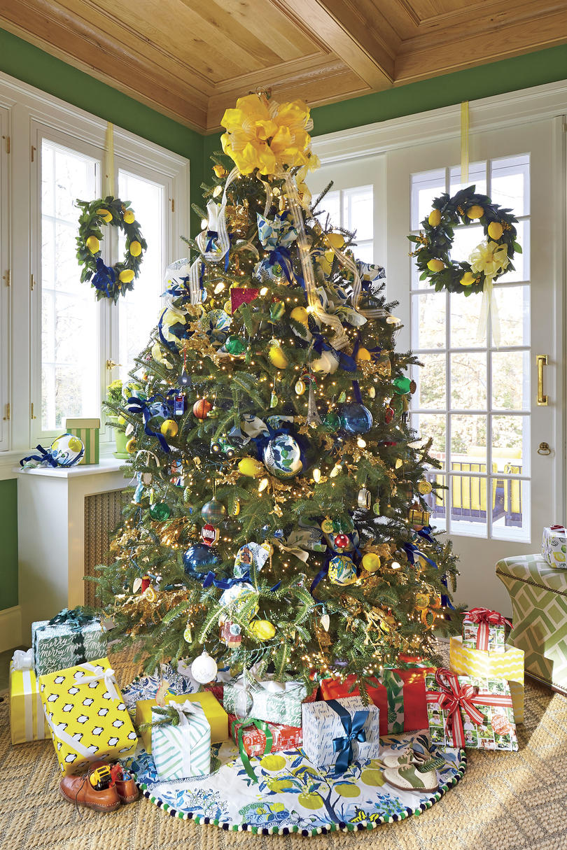 natasha lawler charlottesville house at christmas lemoncitrus christmas tree