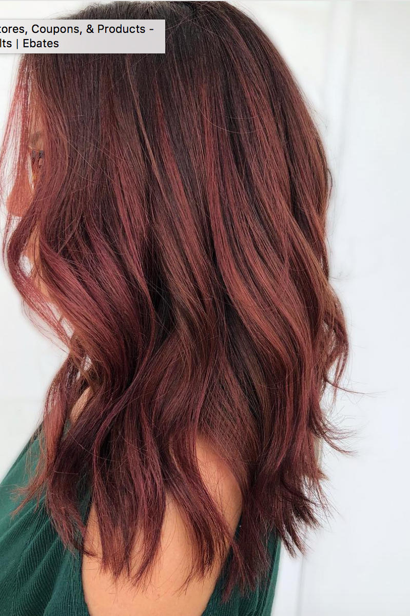 Dark Red Hair Color Looks That Are Right On Trend This Winter