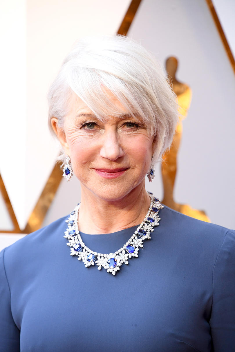 Helen Mirren's Long Pixie