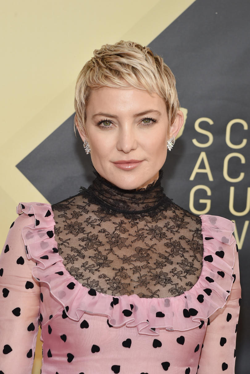 Kate Hudson's Side-Swept Pixie