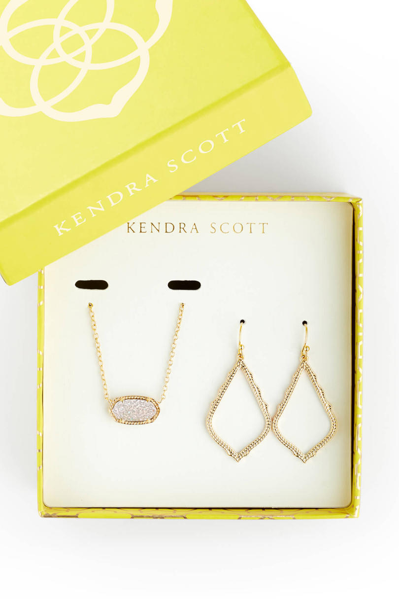 Sophia Earrings And Elisa Necklace Set