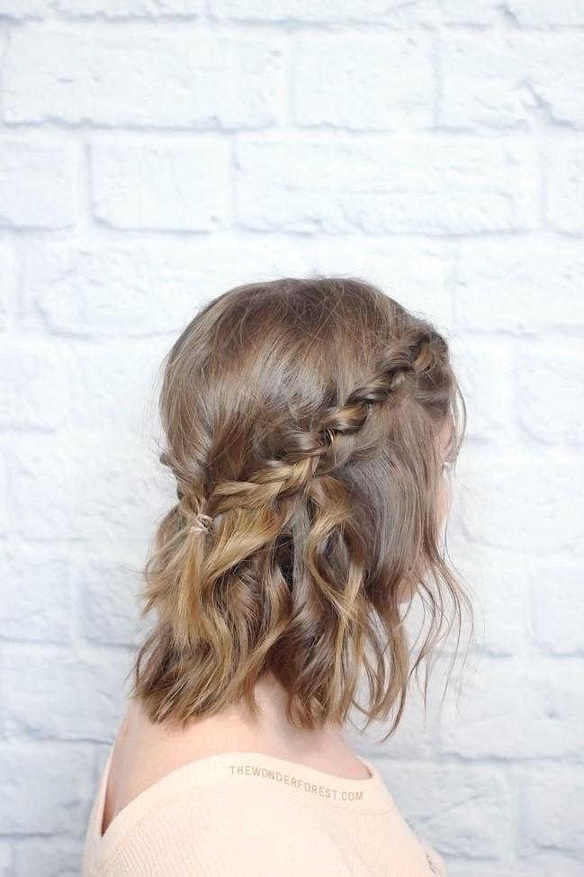 Messy Braided Crown