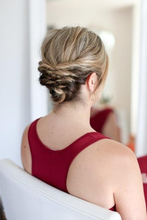 Quick Messy Updo
