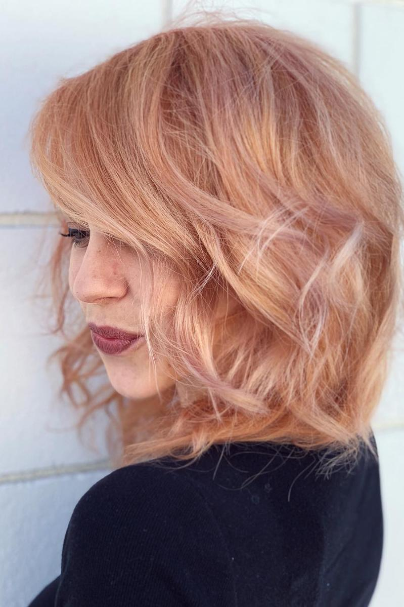 Light Strawberry Blonde