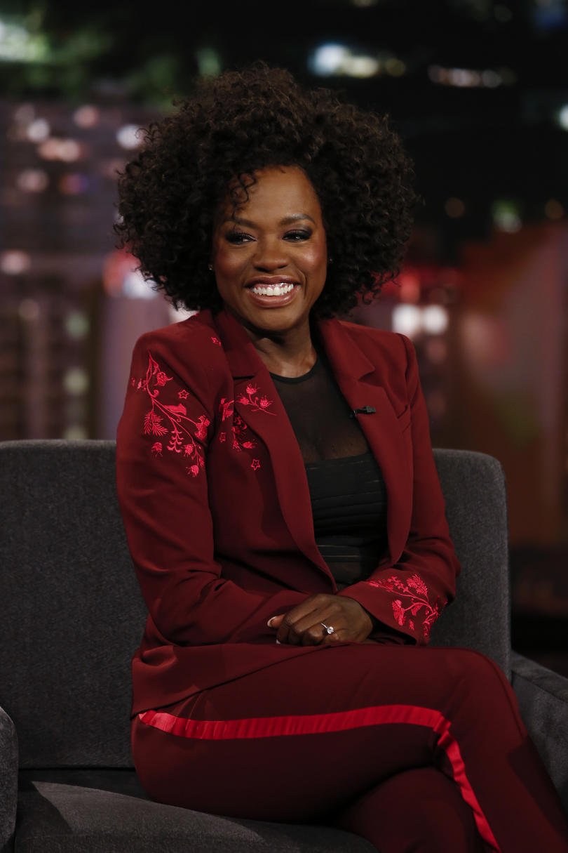 Viola Davis's Natural Curls