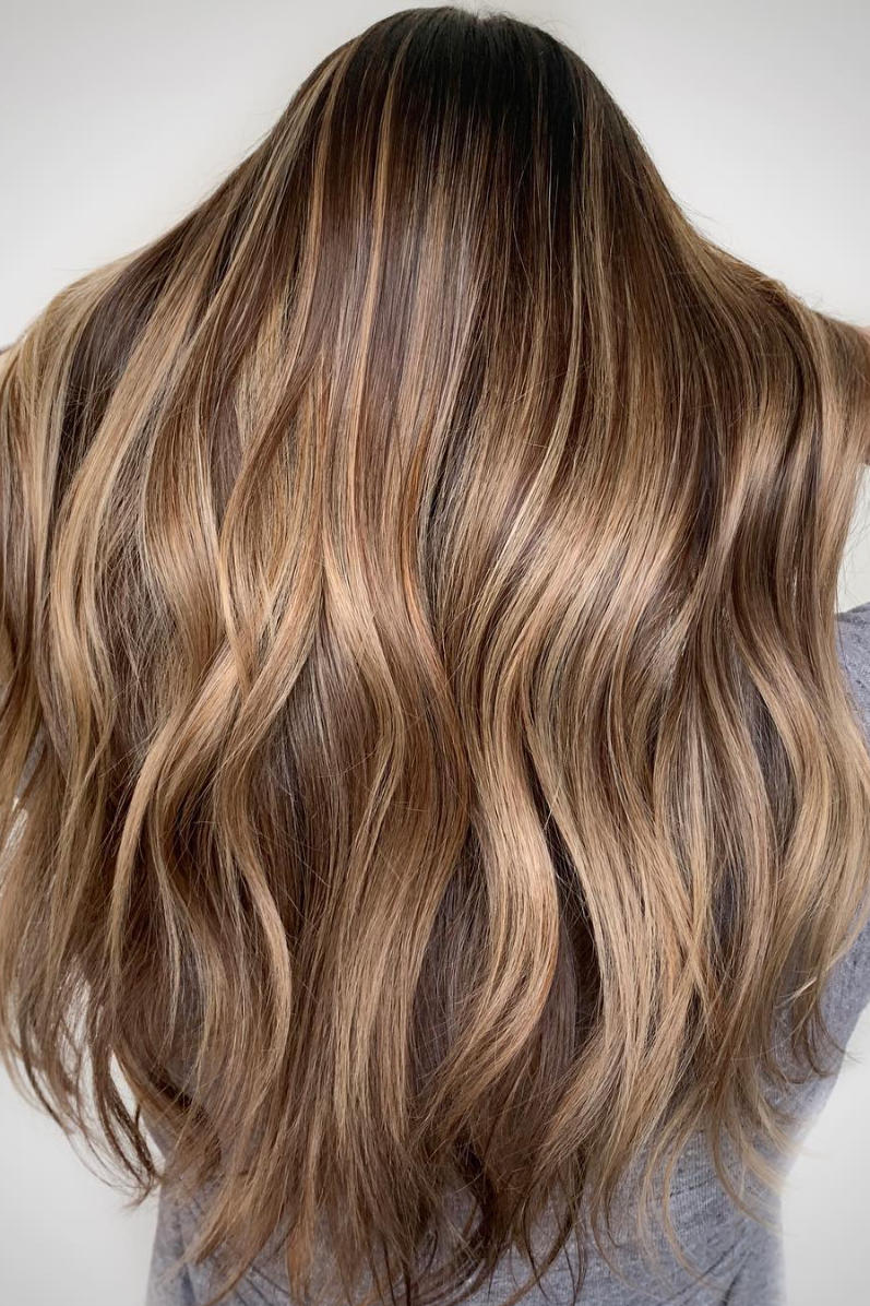 Dirty blonde brown hair color